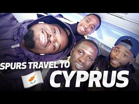 BEHIND-THE-SCENES | Spurs travel to and train in Cyprus