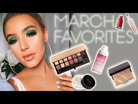 connectYoutube - HOT BEAUTY PRODUCTS YOU NEED!   March Beauty Favorites ♡