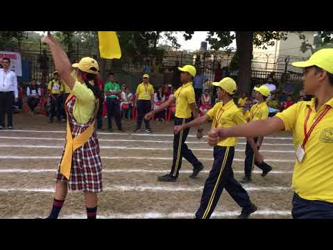 Bai Kabibai English School & Jr. College Sports Day March pass 2017-18