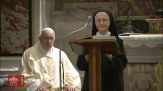 Papa Francisco -  Misa de hoy en tumba de San Juan Pablo II en centenario de nacimiento, 18-5-2020