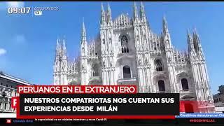 Familia PBO nos cuentan sus experiencias desde New York y Milán ???? ??PERUANOS EN EL EXTRANJERO