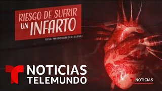 Los infartos aumentan en esta época navideña   Noticias Telemundo