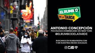 """Dr. Antonio Concepción: """"Los dominicanos en NY están tomando el coronavirus de relajo"""""""