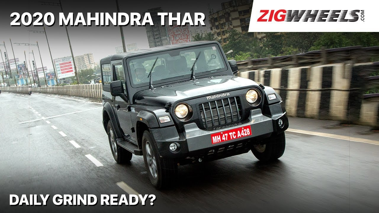 🚙 2020 Mahindra Thar Drive Impressions | Can You Live With It? | Zigwheels.com