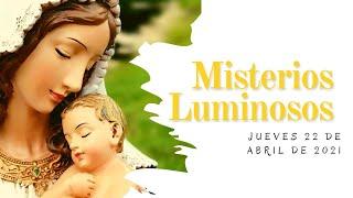 Rosario de Hoy Jueves 22 de Abril   Misterios Luminosos   Wilson Tamayo