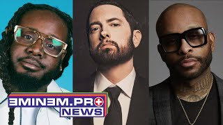 """T-Pain Doesn't Think Eminem Will Ever Have Track With Him, Blames Royce da 5'9"""""""