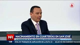 Pandemia expone hacinamiento en cuarterías de San José