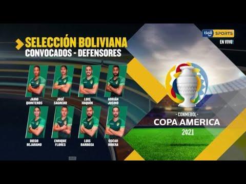 Estos son los convocados de la Selección boliviana para la Copa América. #TigoSportsBolivia