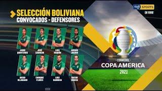Estos son los convocados de la Selección boliviana para la Copa América. #TigoSportsBolivia?