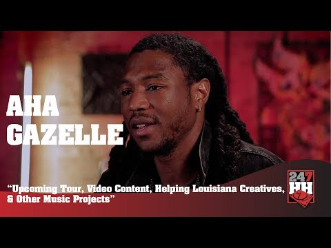 Aha Gazelle - Upcoming Tour, Video Content, Helping Louisiana Creatives (247HH Exclusive)