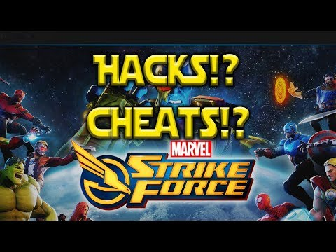 Hacks! Cheats! Free Power Cores! Scammers | Marvel Strike Force