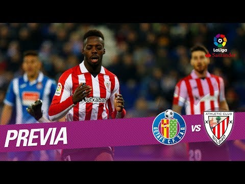 Previa Getafe CF vs Athletic Club