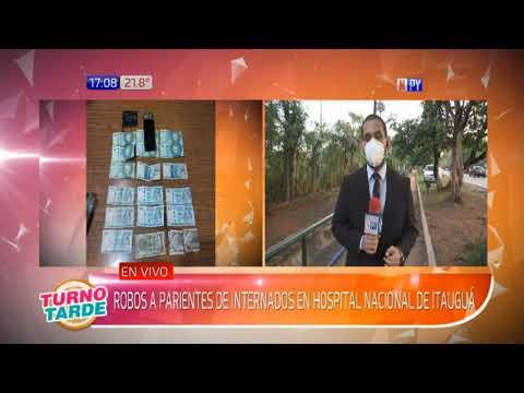 Hospital Nacional de Itauguá: Robos a familiares de internados