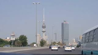 Road trip to the Liberation Tower, Kuwait