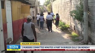 Two Murders Committed Minutes A Part in Burger Gully On Monday  | News | CVMTV