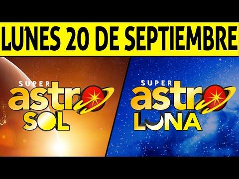 Resultados ASTRO SOL y ASTRO LUNA del Lunes 20 de Septiembre de 2021   SUPER ASTRO