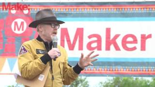Adam Savage at Maker Faire Bay Area 2016