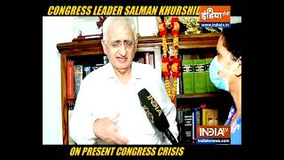 Sachin Pilot has a bright future in Congress, says senior Congress leader Salman Khurshid - INDIATV