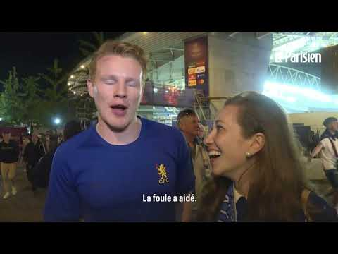 Ligue des Champions:  de Porto à Londres, l'explosion de joie des fans de Chelsea