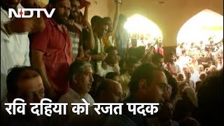 Tokyo Olympics: कुश्ती के फाइनल मुकाबले में भारत की हार, Ravi Dahiya को रजत पदक - NDTVINDIA