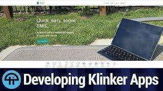 Developing Klinker Apps