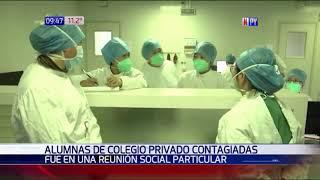 Adolescentes organizaron reunión y terminaron contagiadas de Covid-19