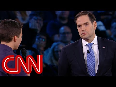 connectYoutube - Survivor to Rubio: Will you reject NRA money?