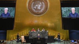 Prezidentės kalba Jungtinių Tautų Generalinės Asamblėjos bendruosiuose debatuose
