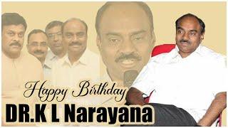 DR KL Narayana Birthday Special Video | #HBDKLNarayana | Producer Prasanna Kumar | TFPC - TFPC
