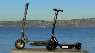 Razor scooters drive electric