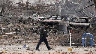 La policía cree haber encontrado restos humanos entre los escombros de la deflagración de N…