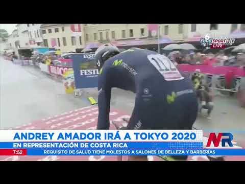 Andrey Amador representará a Costa Rica en Tokio 2020