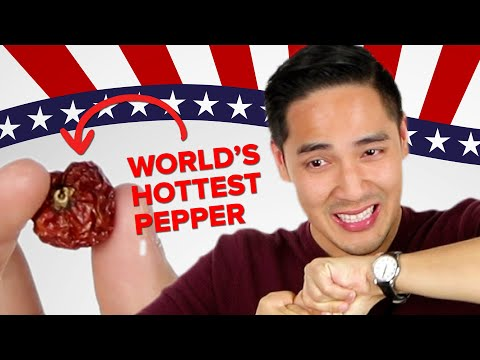 I Ate The World's Hottest Pepper While Explaining Midterm Elections