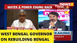 WEST BENGAL GOVERNOR JAGDEEP DHANKAR ON REBUILDING BENGAL |NewsX - NEWSXLIVE