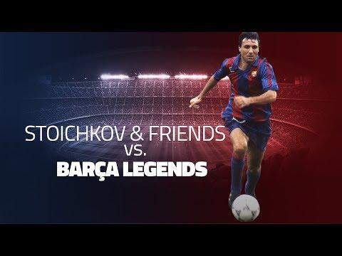 Barça Legends Match: Hristo Stoichkov's Friends v Barça Legends