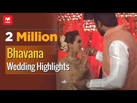 Bhavana Wedding Highlights