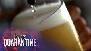 Makati bans drinking liquor in public as virus restrictions remain | Teleradyo