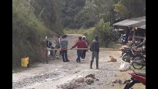 Cuatro indígenas mueren tras accidente de tránsito en Sotará, Cauca