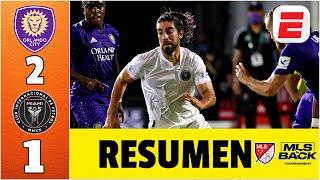 Orlando City vs Inter Miami RESUMEN MLS | Rodolfo Pizarro jugó en el regreso del equipo de Beckham