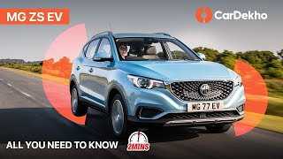 MG ZS EV SUV India | Price, Launch Date & more | CarDekho
