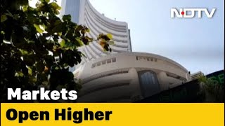 Sensex, Nifty Open Higher, Bharti Airtel Falls Promoters Plan Stake Sale - NDTV