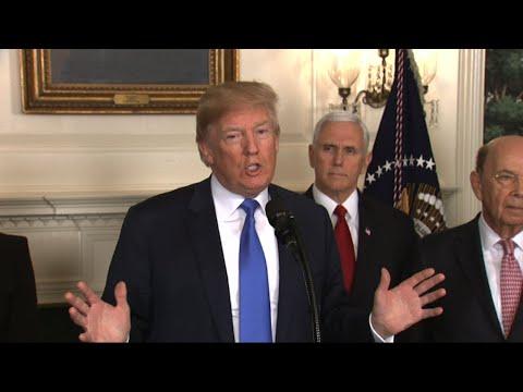 Trump Signs Order Punishing China on Trade