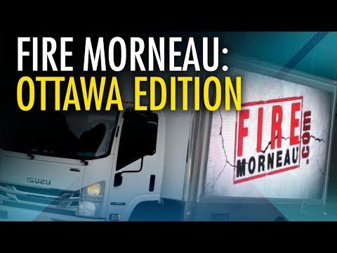 "Rebel takes ""Morneau must go!"" message to Ottawa"