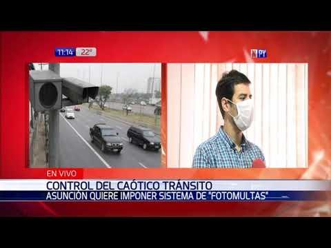 Municipalidad busca implementar fotomultas ante caótico tráfico