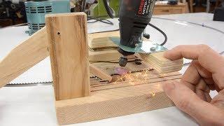 Bandsaw blade sharpener jig