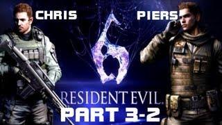 Resident Evil 6: Chris Redfield & Piers Nivans - Глава 3-2: Погоня