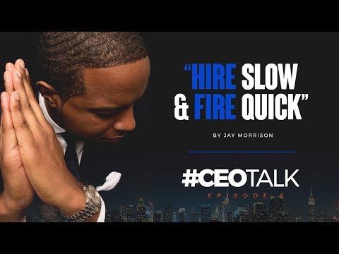 connectYoutube - Second mistake:  HIRE SLOW & FIRE QUICK