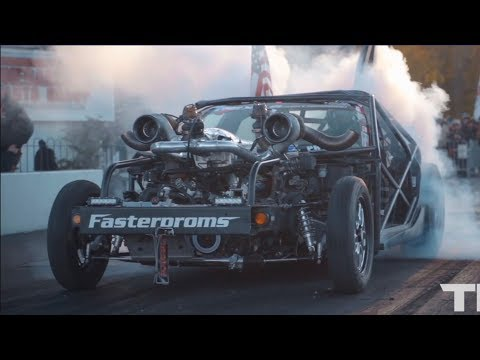 Cleetus Mcfarland?s TT Vette Kart + Worlds Fastest Stick Shift Ford + Billet 2JZ Scion FRS