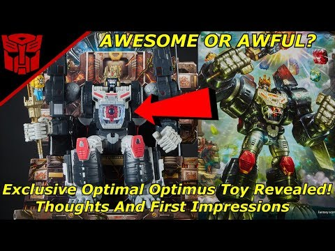 Exclusive Optimus Primal Toy Revealed!- Awesome or Awful? - Transformers Bumblebee(2018)