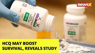 HCQ may boost survival, reveals new study | NewsX - NEWSXLIVE